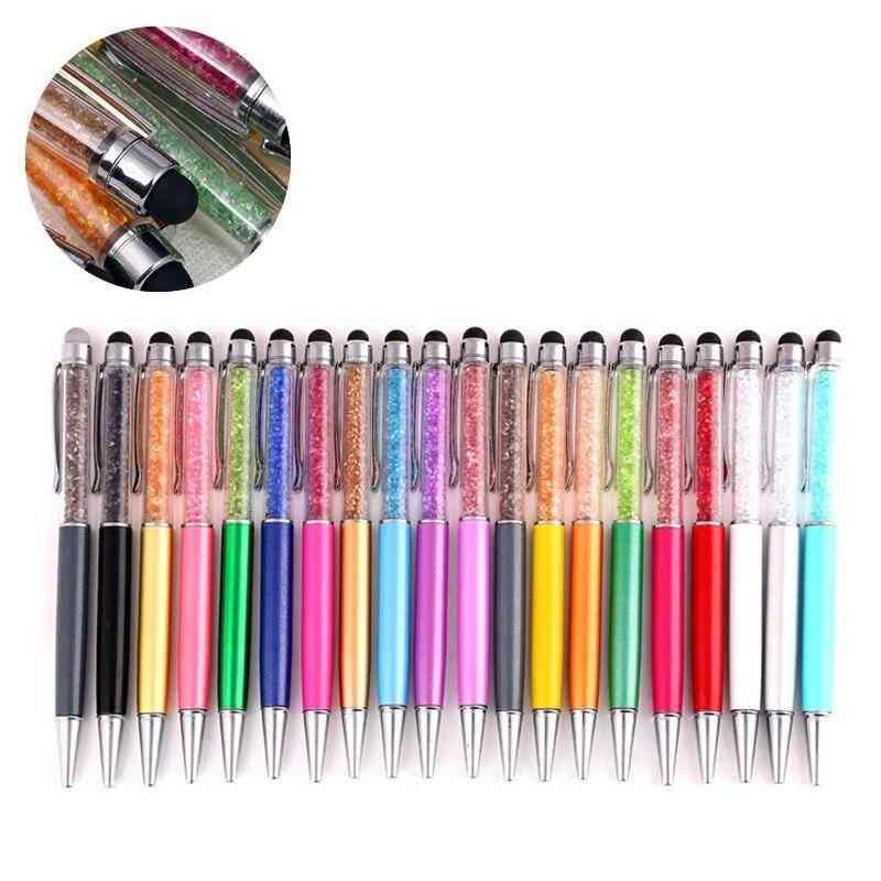 Creative Diamond Metal Pens, Crystal Ballpoint Pen