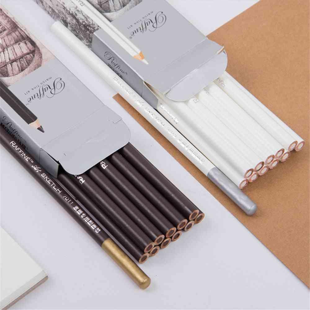 Professional Panting Drawing Chalk, Non Toxic Base - Pastel Sketch Pencil