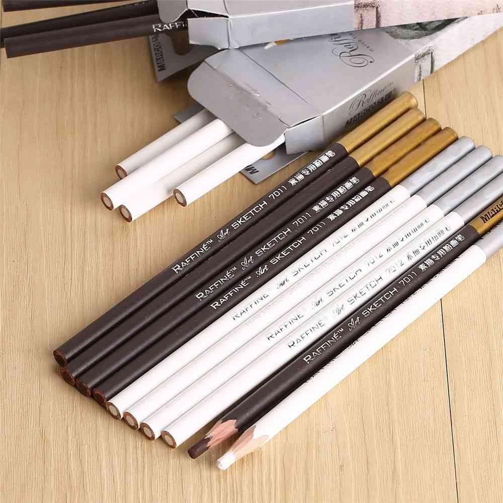 Powder Brush Pencil, For Painting Art Student
