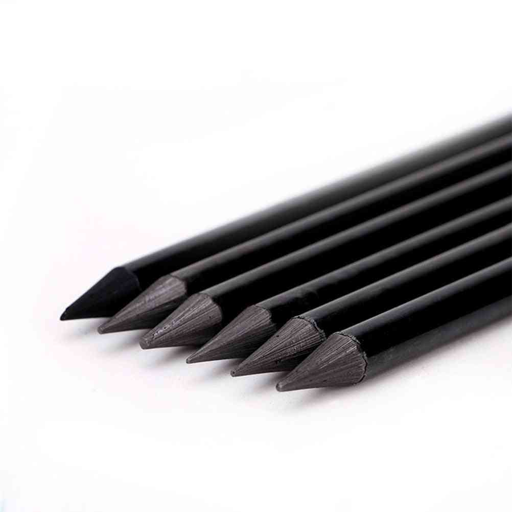 Professional Pure Carbon Sketch Charcoal Pencils For Drawing