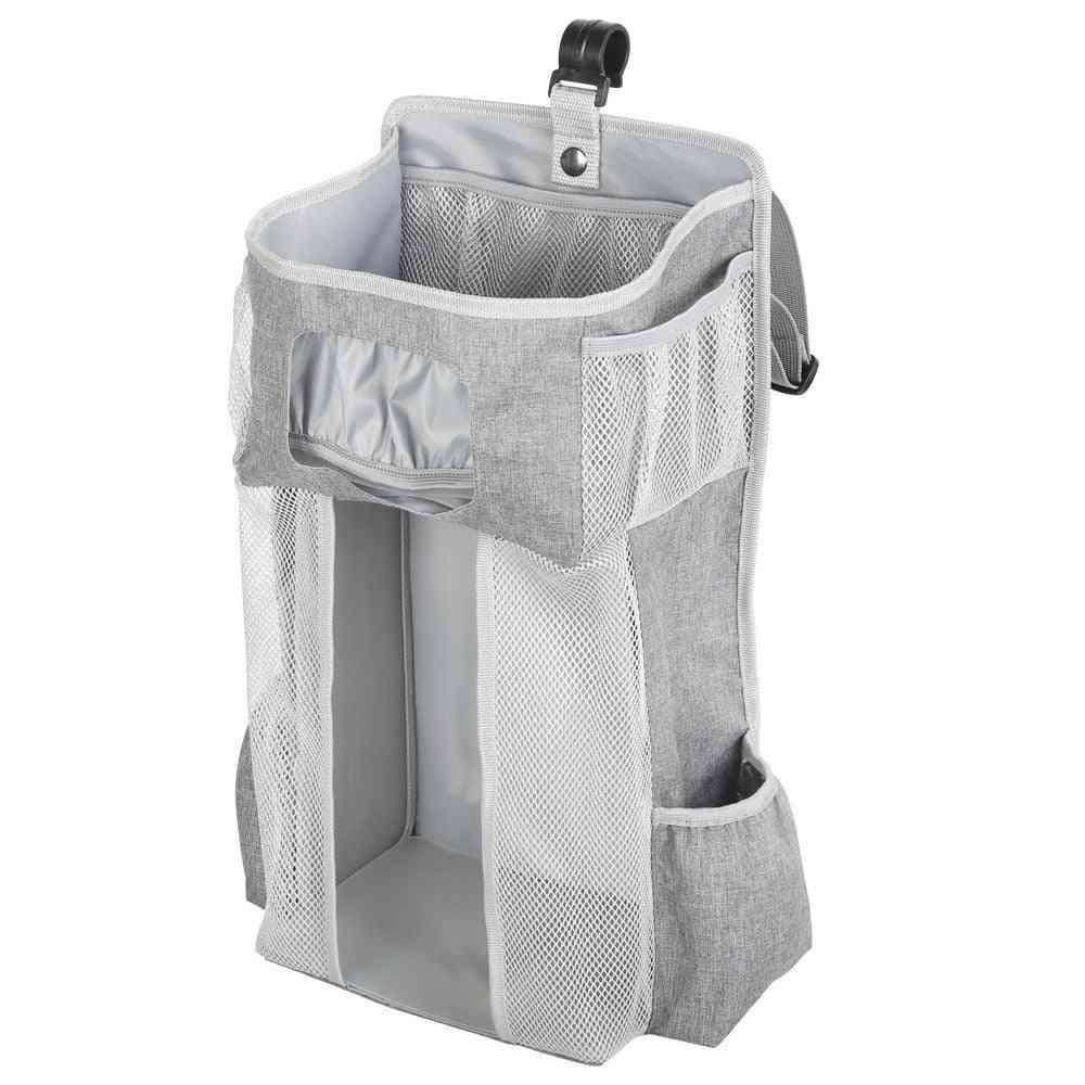 Portable Baby Crib Hanging Cloth/diaper Storage Bag
