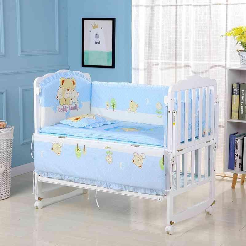 Infant Bedding Set- Cotton Crib Bumpers