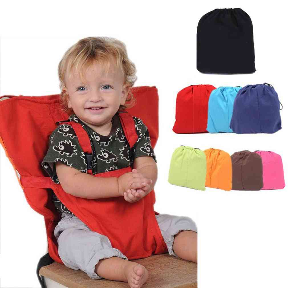 Portable Baby Dining Chair Seat, With Adjustable Strap