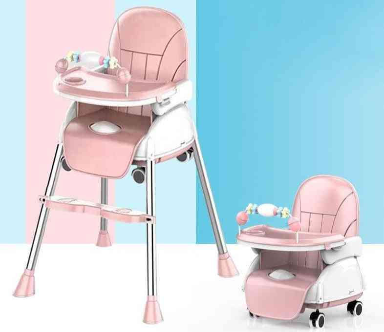Folding Dining Highchair For, Booster Seat