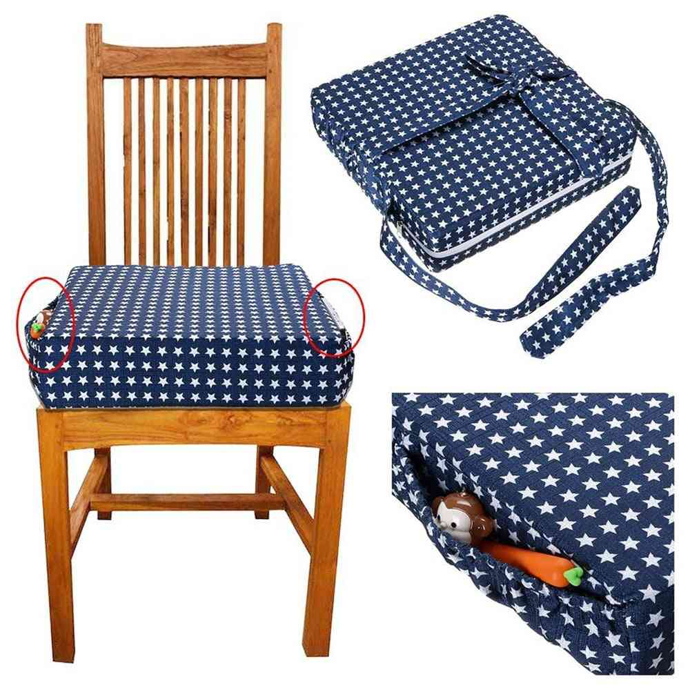 Portable High Chair Booster Seat Cushion For Table Dismountable Washable Pads