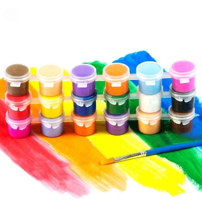Drawing Diy Acrylic Paint, Water Brush Pigment Set