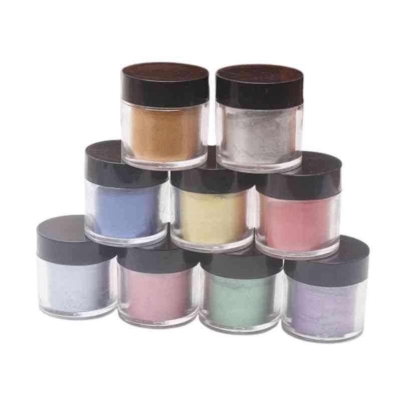 Pearlescent Mica Pigment Pearl Powder, Uv Resin Crystal Epoxy Craft Diy