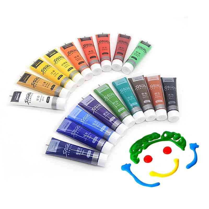 Acrylic Fabric Paint For Clothing, Textile, Nail, Fiber Pigment