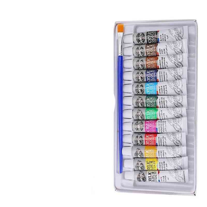 Professional Acrylic Paint, Watercolor Set, Hand Wall Painting Brush