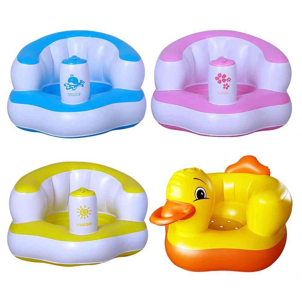 Kids Baby Inflatable Chair, Sofa Bath Seats