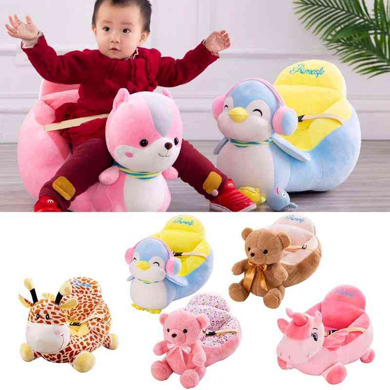 Baby Sofa Learn To Sit Seat, Feeding Chair Cover Washable Skin