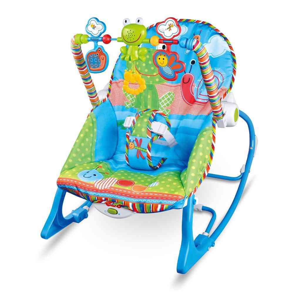 Multi-function Music, Electric Swing Appease Rocking Chair- Baby Cradle