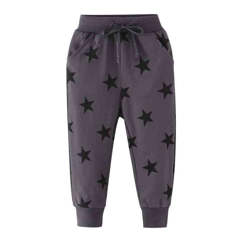Boys Trousers Pant With Stars Printed