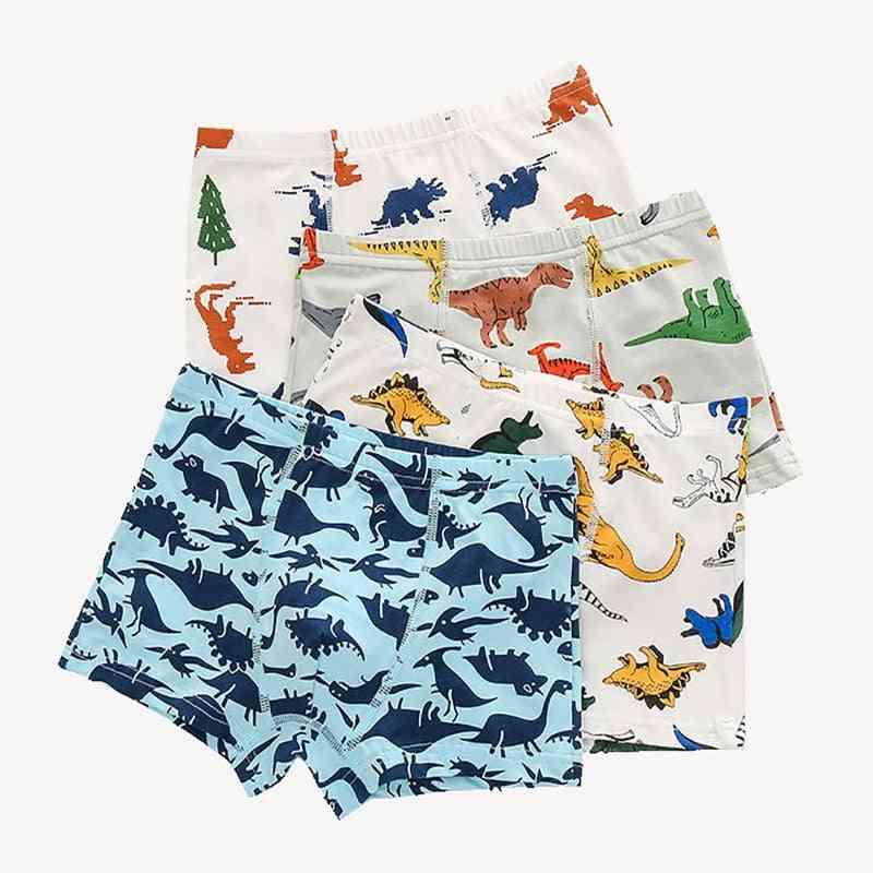 Baby Panties Cotton Dinosaur, Cars, Underwear Boxers Underpants For Kid,'s,