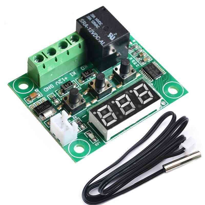 12v Digital Temperature Control Switch Plate