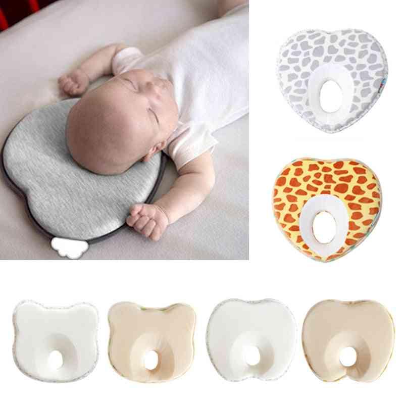 Sleep Positioner, Anti Roll Cushion- Flat Head Prevention Pillow For Newborn