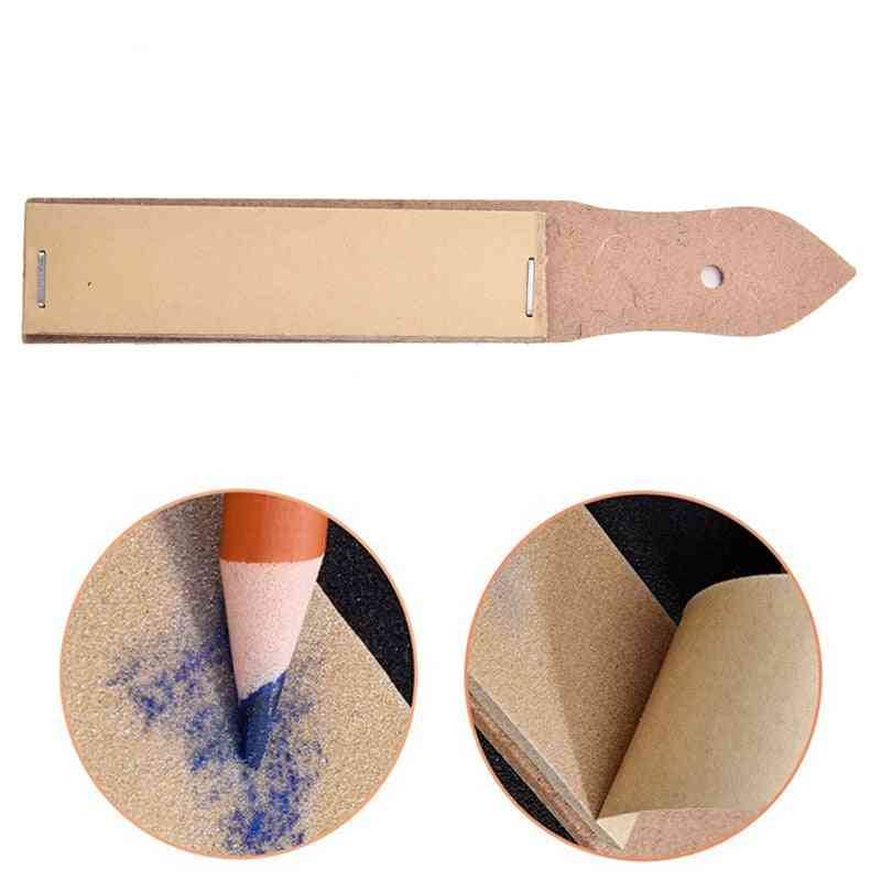 Sandpaper Pointer Tools For Artist Sketch Charcoal Pencil Sharpening Art Drawing Supplies
