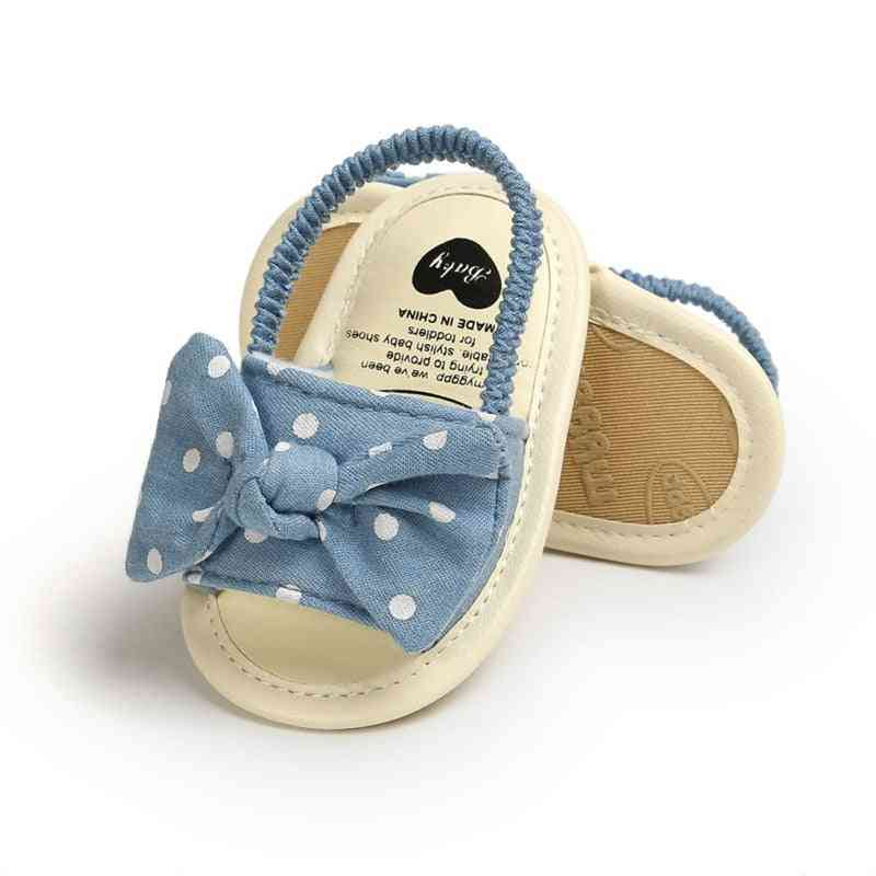 Fashion, Bow New Born Baby Girl Sandals