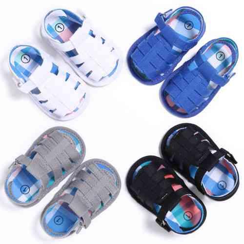 Newborn Baby Sandals-leisure Crib Shoes
