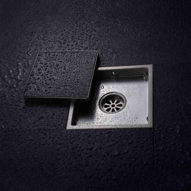 Stainless Steel Floor Drain -tile Insert Square Waste Grates