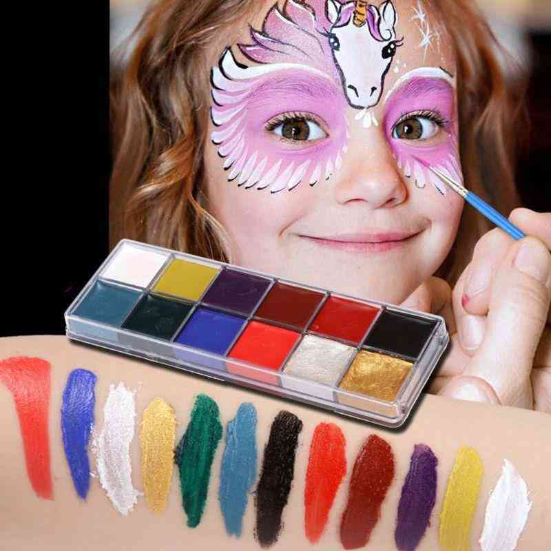 Festival Body Painting-oil Paint Colors