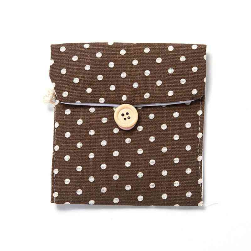 Napkin Towel Storage Organizer -tampon Pad Purse Holder Case Bag