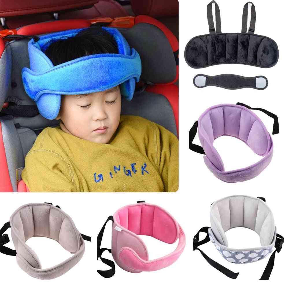 Baby Fixing Band Car Seat Sleep Nap Head Support Belt, Positioner