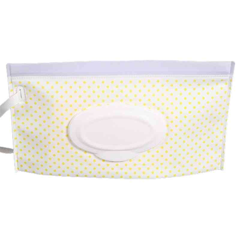 Eco-friendly Baby Wipes Box, Reusable Carrying Bag