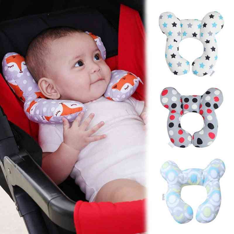 Soft U Shaped Support Head Neck, Baby Kid Pillow