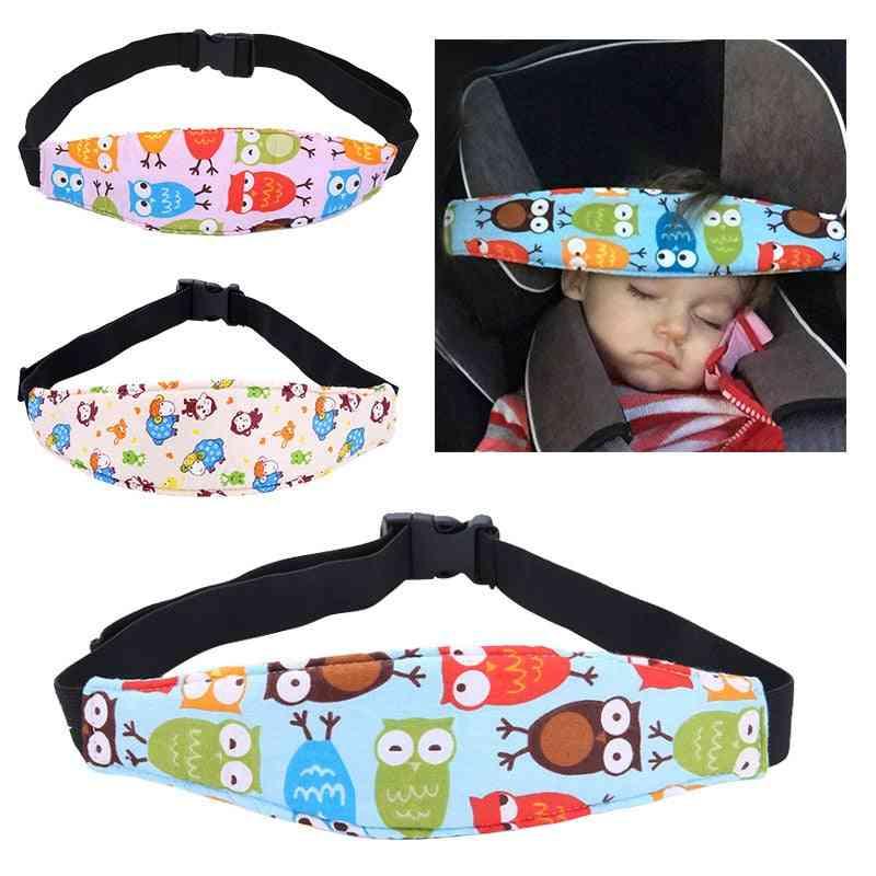 Kids Car Seat Headrest Support Belt, Adjustable Fastening Neck Protection
