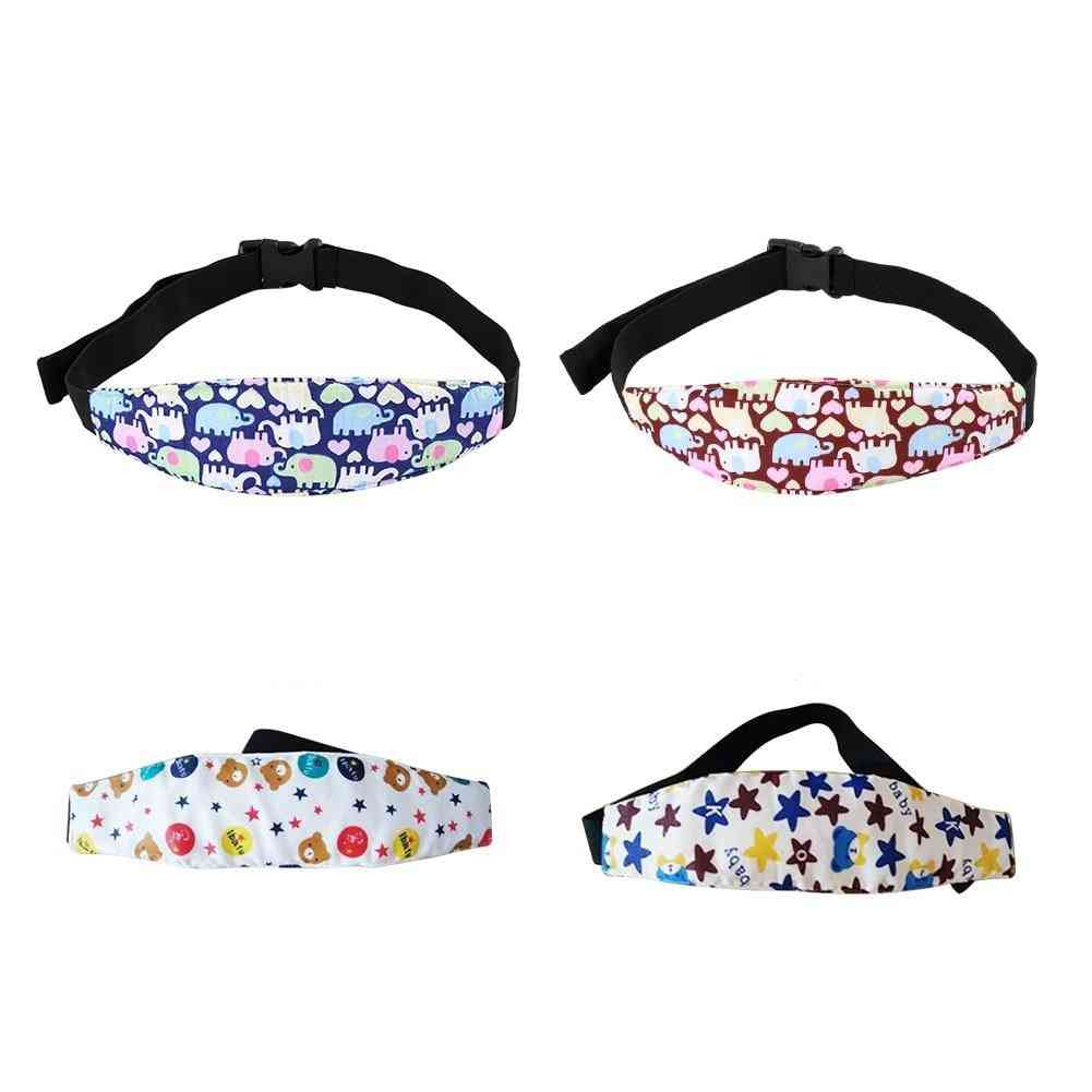 Infant Safety Seat Head Fixed Snooze Belt Strap