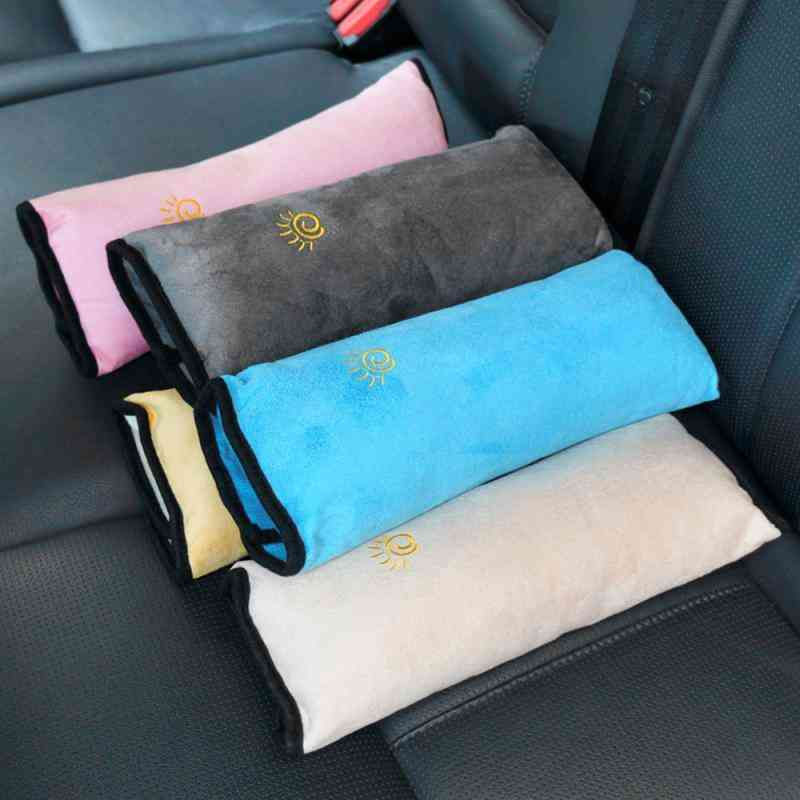 Car Pillows Safety Belt Auto Shoulder Cushion Pad, Harness Protection Support