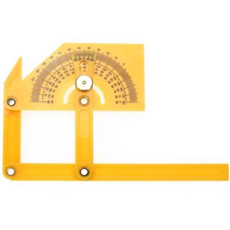 Engineer 180 Degree Protractor Finder- Measure Arm Ruler Gauge Tool