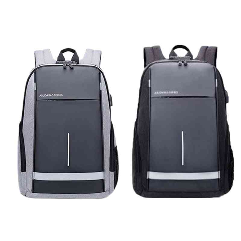 Men's Casual Usb Business Computer Backpack