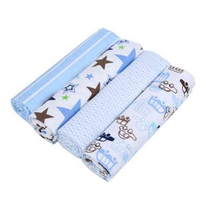 4pcs Newborn Baby Bed Sheet Bedding Set
