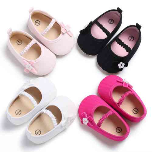 Newborn Soft Soled Princess Crib Shoes