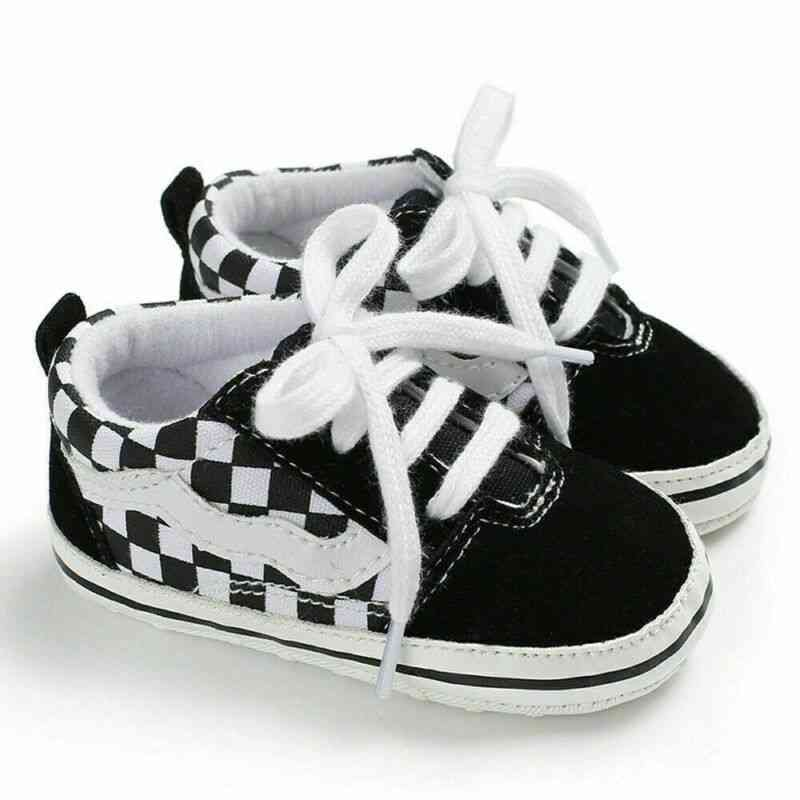 Summer Canvas Sneakers Baby Boy & Girl Soft Sole Crib Shoes
