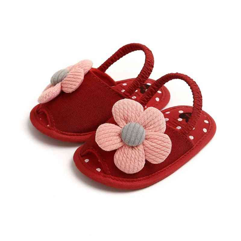 Summer Baby & Cute Flower Breathable Anti-slip Shoes