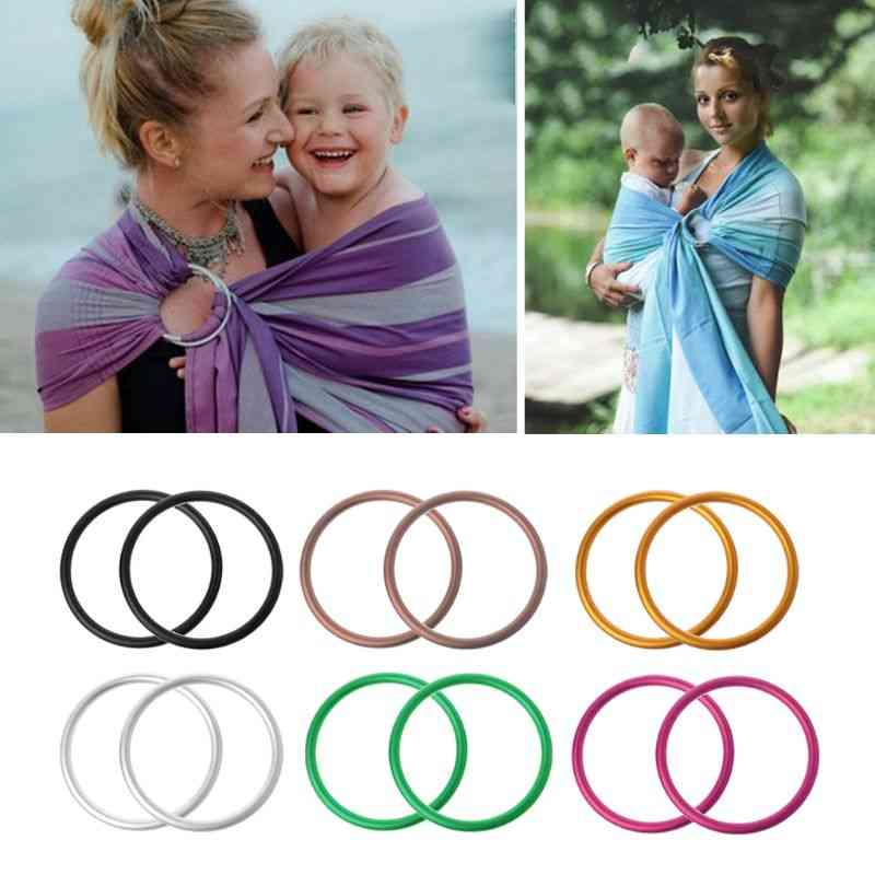 Aluminium Baby Sling Rings For Carriers/wrap On Short Trips