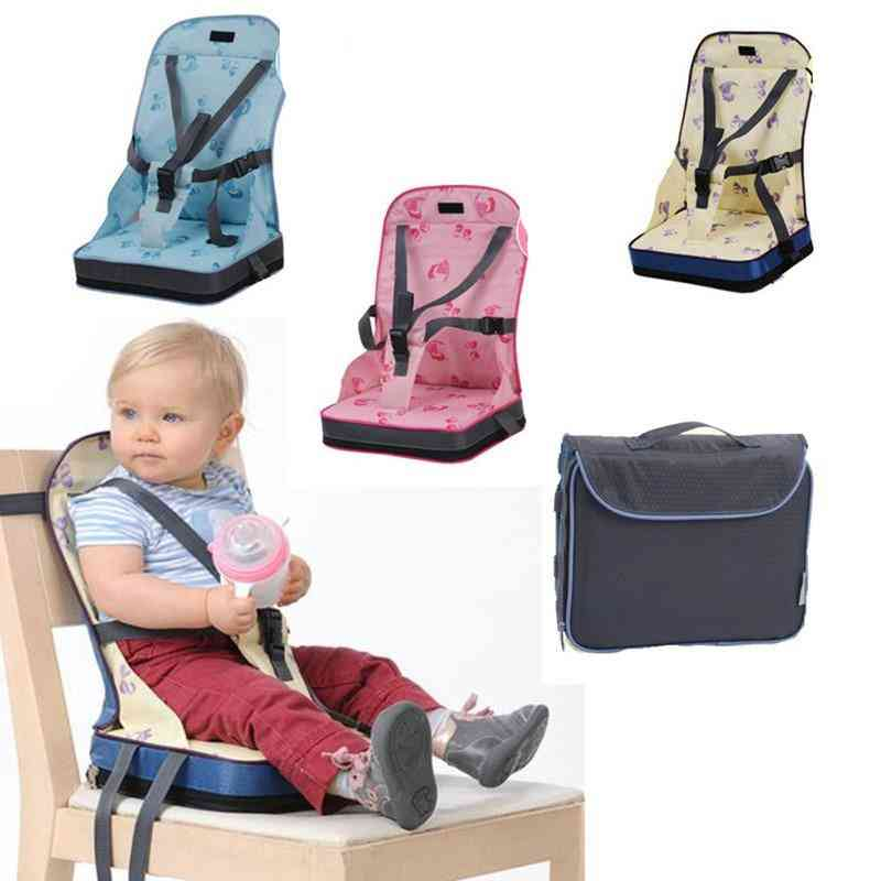 Portable Baby Dining Chair Booster Seat With Safety Belt
