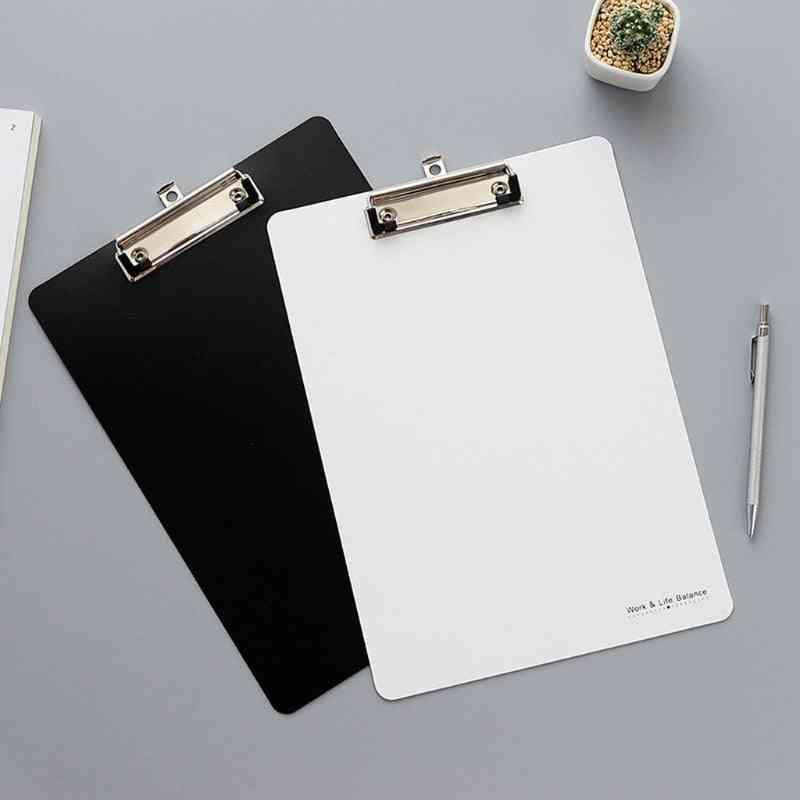Non-toxic, Durable Plastic Writing Clipboard