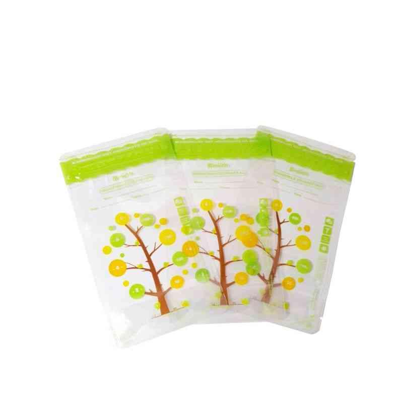 112pcs Leak Proof, Sterilized Freezer Breast Milk Storage Bag