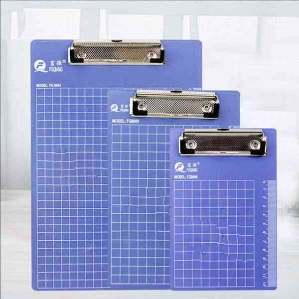 Writing Clipboard With Flat Or Butterfly Clip