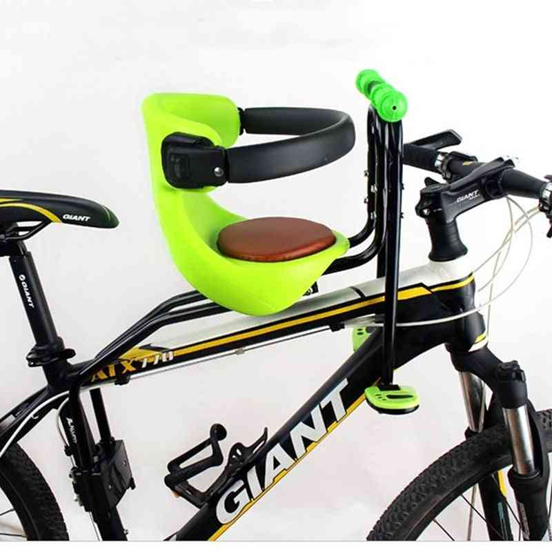 Bicycle Baby Seat For Kids, Child Safety Carrier, With Back Rest