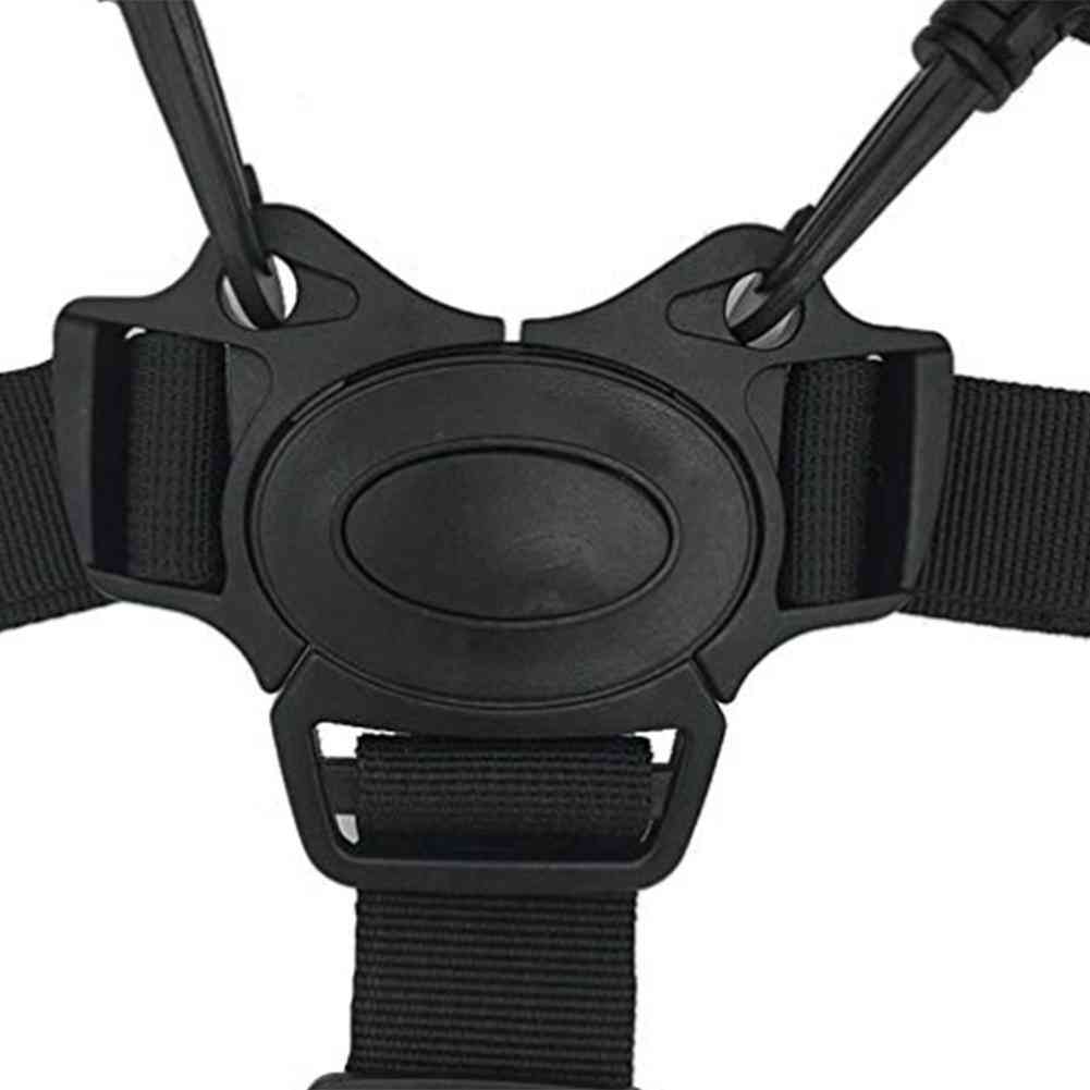 Universal Five-point Chair-safety Straps, Carriage Belt