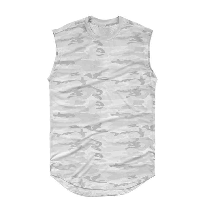 Sleeveless Camouflage Shirt