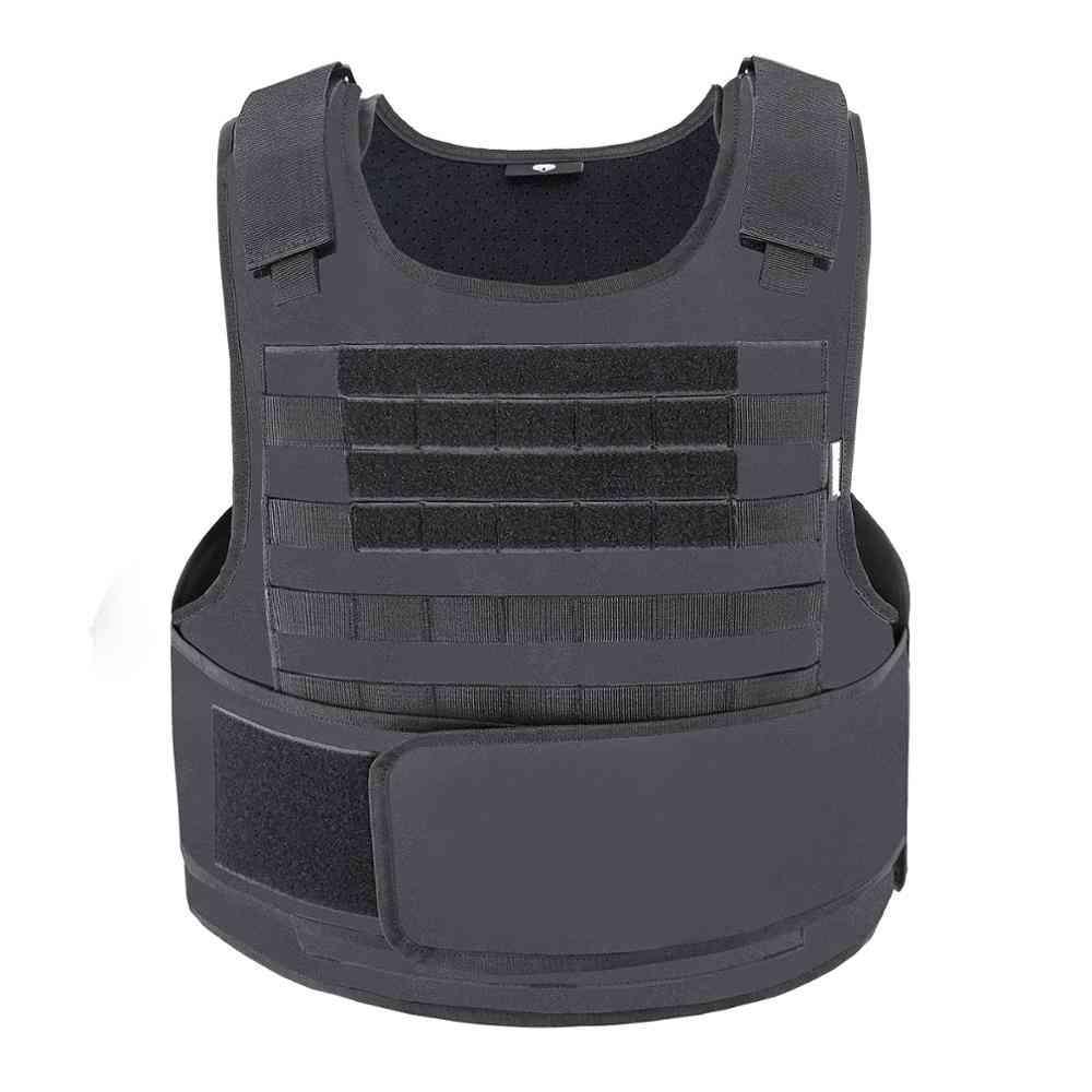 Amphibious Tactical Military Molle Waistcoat- Combat Assault Plate Carrier Vest
