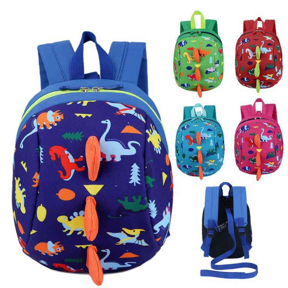 Anti-lost Backpack, Safety Harness, Leash Strap Bag For Walking Toddler/ Baby/ Kids