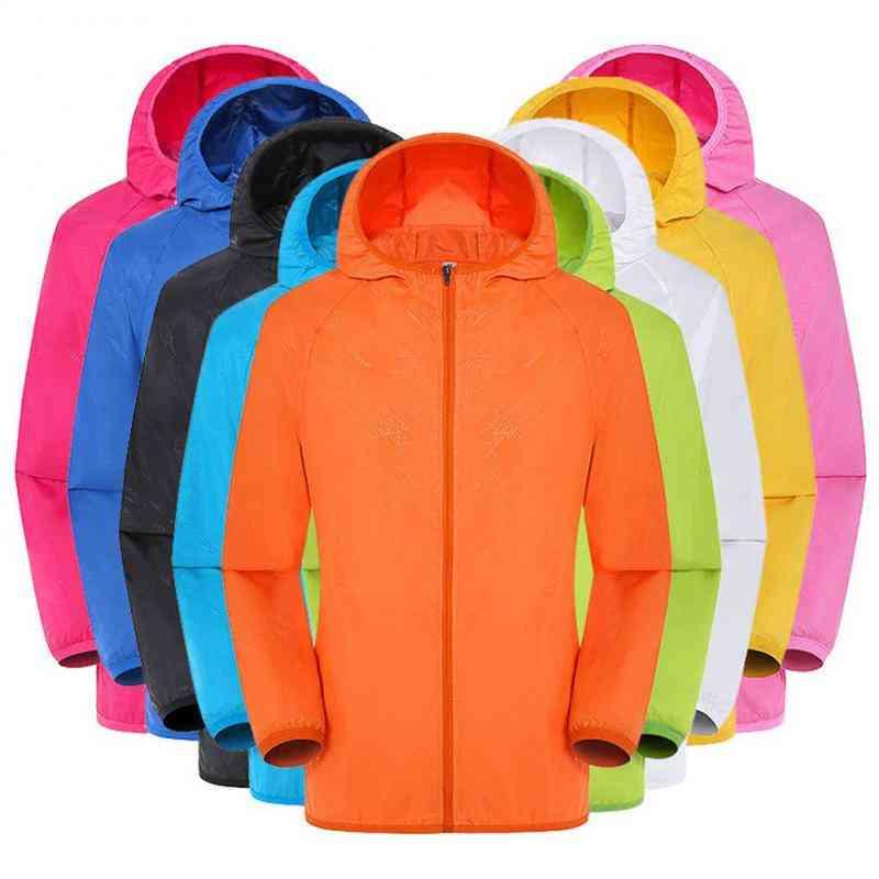 Ultra-light Rainproof Windbreaker Breathable Waterproof Raincoats, Windproof Protective Coat For Outdoor Activities