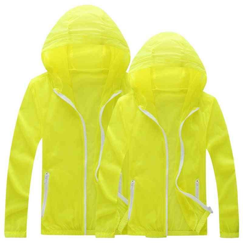 Men & Women Quick Dry Skin Jackets, Waterproof Anti-uv Coats